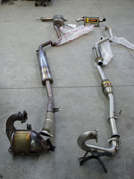 Performance Sport Exhaust For Megane Rs Trophy 250 265