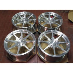 "BC Forged 18"" monoblock alloy wheels"