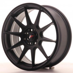 "Japan Racing JR11 17x7.25"" nero opaco"
