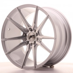 "Japan Racing JR21 18"" silver machined"