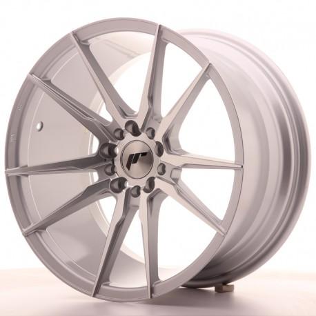 "Japan Racing JR21 18"" argento diamantato"