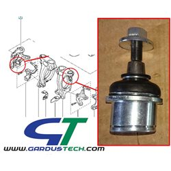 Front hub upper joint for Clio 3 RS and Megane 3 RS