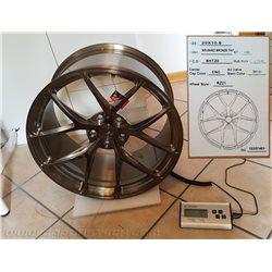 "BC Forged 18"" monoblock alloy wheels"