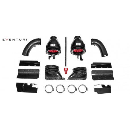 Kit di aspirazione in carbonio Eventuri per Audi RS5 e RS4 B8