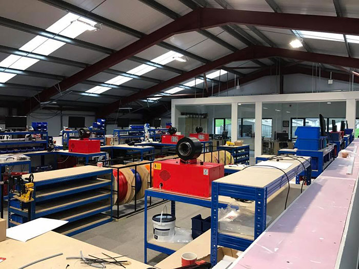 Hel Performance production facility in the UK